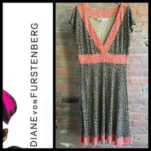 Diane von Furstenberg Enola dress   Size 14